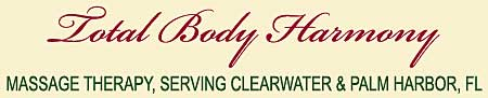 Massage Therapist, Clearwater, FL and Palm Harbor FL